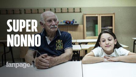 Domenico Di Bartolomeo a 83 anni tra i banchi di scuola per il diploma di terza media