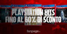 Days of Play 2019: PlayStation Hits in offerta fino al 60% di sconto