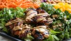 Asian chicken salad: the quick recipe with a very good taste