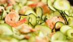 Zucchini Shrimp: a juicy meal and very delicious