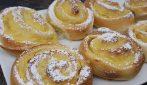 Girelle brioche con crema pasticcera: super soffici e buonissima