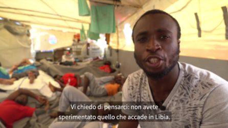 """Sea Watch, la testimonianza di Hermann: """"Darei la mia vita ai pesci, pur di non tornare in Libia"""""""