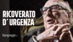 Andrea Camilleri ricoverato d'urgenza in ospedale: lo scrittore 94enne avrebbe avuto un infarto