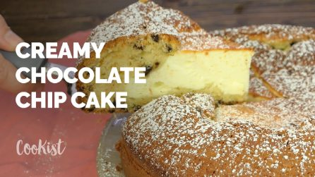 Creamy Chocolate chip cake: creamy and delicious it's perfect treat!