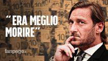 """Francesco Totti lascia la Roma, in conferenza stampa: """"Vogliono i romani fuori dalla Roma"""""""