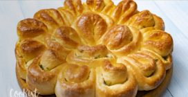 Stuffed flower bread: perfect for a great lunch!