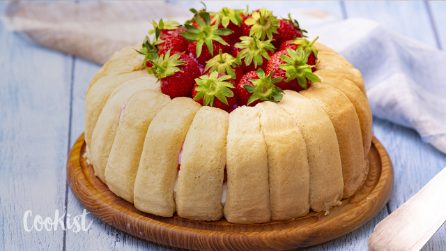 Strawberry zuccotto: a fresh dessert perfect for summer!