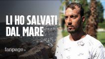 """Omar, il migrante che ha salvato due bambini dal mare di Latina: """"Vorrei rivedere la mia mamma"""""""