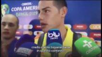 "Calciomercato, James Rodriguez: ""Mi troverei bene a Napoli"""