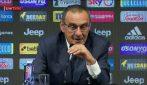"Juventus, Maurizio Sarri: ""Fischi o applausi a Napoli? Manifestazioni d'amore"""