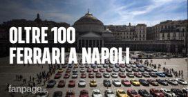 Oltre 100 Ferrari a Piazza Plebiscito, Napoli: tour tra le meraviglie della Campania