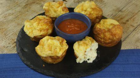 Muffin di uova con formaggio e prosciutto: perfetti per l'antipasto o l'aperitivo!