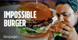 Ho provato l'Impossible Burger, l'hamburger vegano che sa di carne