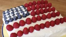 Fourth of July cake: the right dessert for the Independence Day