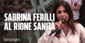 """Sabrina Ferilli per le 'guerriere' del Rione Sanità: """"Combattiamo la violenza dando voce alle donne"""""""