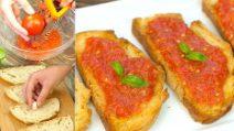 Pane con pomodoro alla catalana: l'idea sfiziosa per una merenda genuina e saporita!