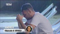 Andrea disperato, teme che Jessica voglia lasciarlo