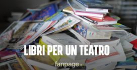 Un libro per un teatro: a Secondigliano 60mila volumi a 1 euro ognuno per realizzare un sogno