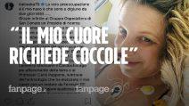 """Katia Follesa, il messaggio dell'attrice dall'ospedale: """"Il mio cuore richiede coccole"""""""