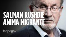 """Salman Rushdie a Napoli per Le Conversazioni: """"I migranti sono un dono per i paesi che li ospitano"""""""