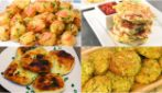 4 ways fritters: ready with a few ingredients in no-time!
