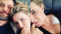 """Katia Follesa col marito dopo i problemi al cuore: """"Che hai fatto lì?"""""""
