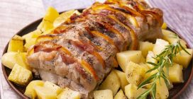 Baked orange pork: how to make a tasty 30 minutes meal!