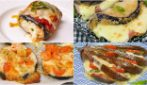 4 ricette per preparare dei piatti facili e gustosi con le melanzane!