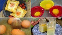 4 ricette saporite per preparare una deliziosa cenetta con le uova!