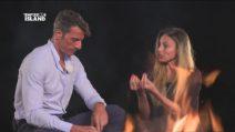 Falò di confronto tra David e Cristina, i due ex del trono over restano insieme