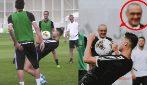 Cristiano Ronaldo è in formissima: numeri in allenamento sotto gli occhi di Sarri