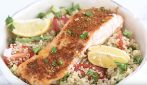 Mediterranean spiced salmon: easy and so delicious