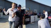 Matthijs de Ligt arriva allo J Medical: l'ovazione dei tifosi