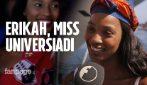 Universiadi 2019 Napoli, tutti pazzi per Erikah Seyama del regno di Eswatini
