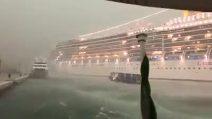 Venezia, nave da crociera sbanda in manovra e rischia grave incidente