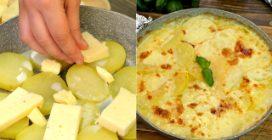 Patate alla savoiarda in padella: la ricetta facile per farle cremose e saporite!