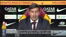 """Calcio Roma, Fonseca: """"Obiettivo tornare in Champions League"""""""
