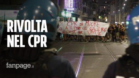 """Migrante muore nel CPR di Torino, rivolta nel centro: """"Un morto e uno stupro in un mese"""""""