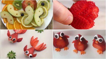 Ecco tutti i trucchi per preparare delle splendide decorazioni con la frutta!