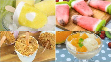 4 gelati alla frutta da preparare comodamente a casa in modo facile e veloce!
