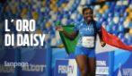 """Universiade, oro per Daisy Osauke un anno dopo l'aggressione: """"Ragazzi fate sport, è bellissimo"""""""