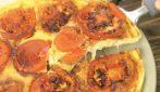 Frittata di pomodori e basilico: la ricetta semplice ed economica!