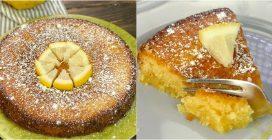 Caprese Lemon Cake: the Italian cake you'll fall in love with!