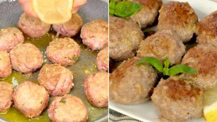 Lemon meatballs: the juiciest meatballs ever !