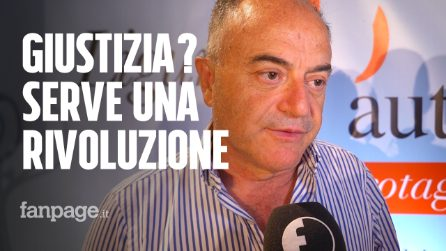 """Nicola Gratteri, procuratore di Catanzaro: """"Serve una rivoluzione in materia di giustizia"""""""