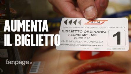Atm Milano, da oggi il biglietto dei mezzi pubblici costa due euro: cosa ne pensano i milanesi?