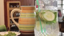 Cucumber detox water: the recipe to make it easily