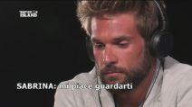 Quarto falò per Nicola, la fidanzata Sabrina ammette che Giulio Raselli le piace