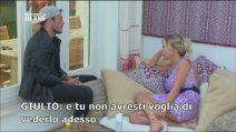 """Sabrina non vuole vedere il fidanzato Nicola, a Giulio: """"Voglio stare qui con te"""""""