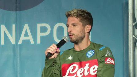 """Calciomercato Napoli, Dries Mertens: """"Voglio restare qui a lungo"""""""